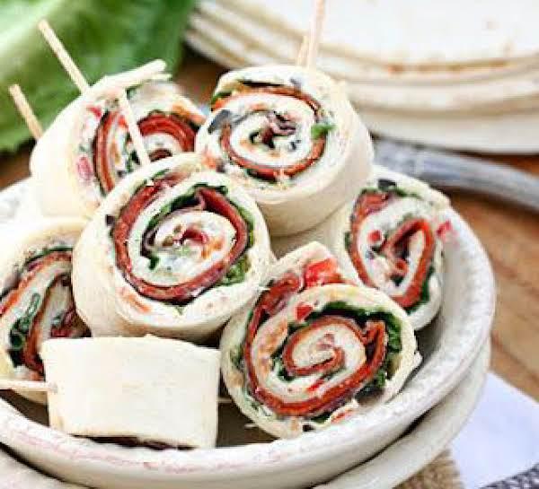 Ellen's Italian Pinwheel Appetizers Recipe