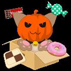 Cat Halloween icon