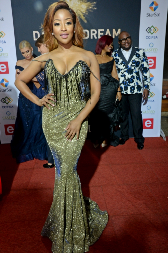 Lorna Maseko during the 13th annual South African Film and Television Awards (SAFTAs) at the Sun City Superbowl on March 02, 2019 in Rustenburg, South Africa.