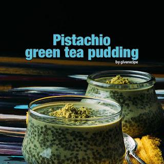 Pistachio Green Tea Chia Pudding