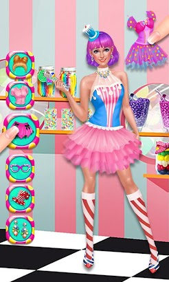 Candy Shop Story: Beauty Salon screenshot