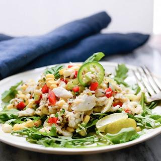 Sweet Corn and Crab Salad.