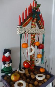 La Vieya'l monte y el ramo leonés de Navidad