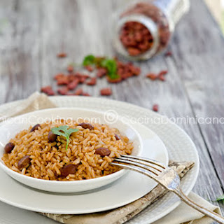 Moro de Habichuelas Recipe (Dominican Rice and Beans)