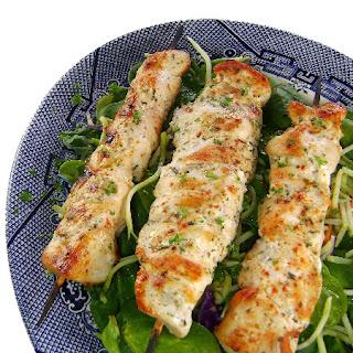 Lemon Garlic Chicken Kabobs Recipe