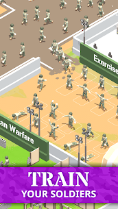 Idle Army Base (MOD, Free Shopping) APK for Android 2