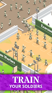 Idle Army Base Screenshot