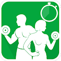 Bodybuilding Fitness Trainer icon