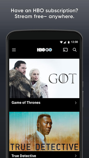 PC u7528 HBO GO: Stream with TV Package 1