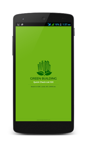 Green Building Check List 100