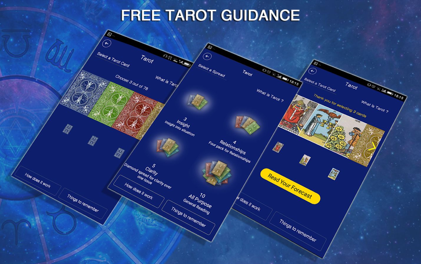 Tarot Card Readings-Astrospeak- screenshot