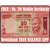 FREE Mobile Recharge [Offered By True Balance]