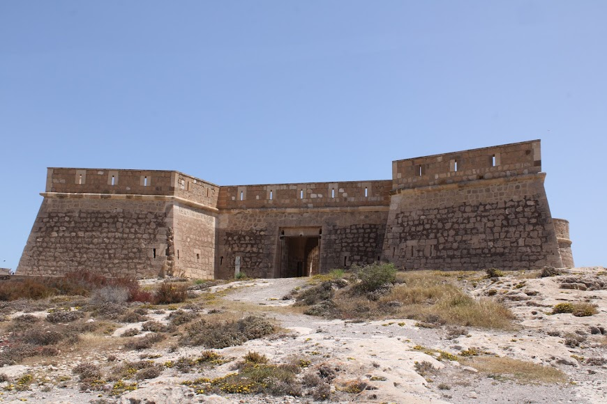 Castillo de San Felipe, los Escullos.