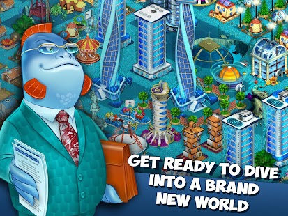 Aquapolis-Build a megapolis!- screenshot thumbnail
