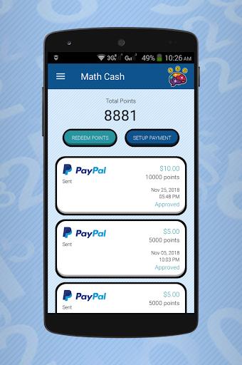 Math Cash - Solve and Earn Rewards screenshot 2