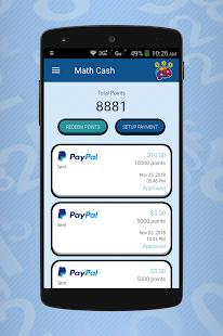 App Math Cash - Solve and Earn Rewards APK for Windows Phone