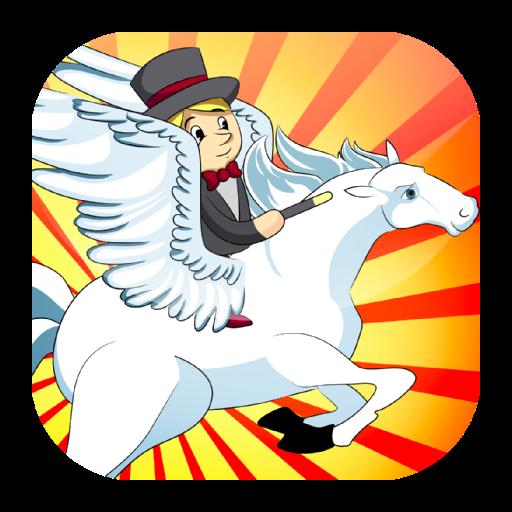 赛车游戏の馬のゲーム LOGO-記事Game