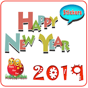 WAStickerApps -New year Stickers 2019 For WhatsApp