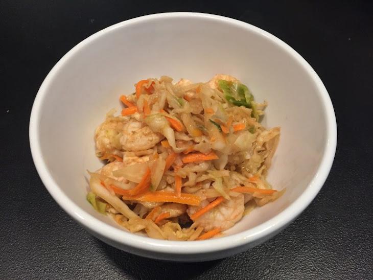 Paleo Shrimp Crack Slaw Recipe