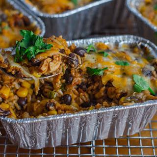 Fit & Healthy Chicken & Rice Enchilada Casserole Recipe