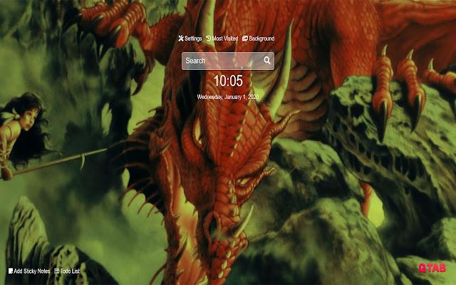 Dragon Wallpapers Dragon New Tab HD