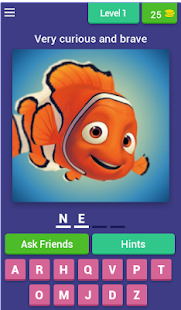 Guess the PIXAR character - náhled