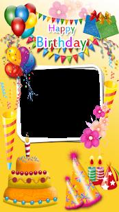 Cool Birthday Photo Frame - náhled