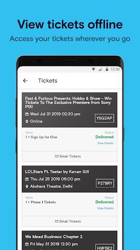 Paytm Insider: Movie Tickets, Events & Gameshows 4.3.1 screenshots 6