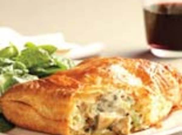 Mushroom Turnovers With Spinach Salad Recipe