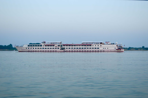 Myanmar-riverboat - We spent seven nights on a Belmond ship -- The Road to Mandalay -- on the Ayeyarwady (Irrawaddy), the main river of Myanmar.