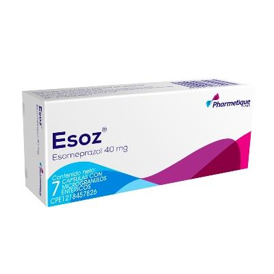 Esomeprazol Esoz 40 mg 7 Capsulas