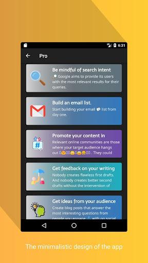 Blogging Tips (2020) screenshot 2