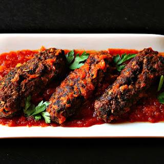 Turkish Kofta Stuffed with Eggplant