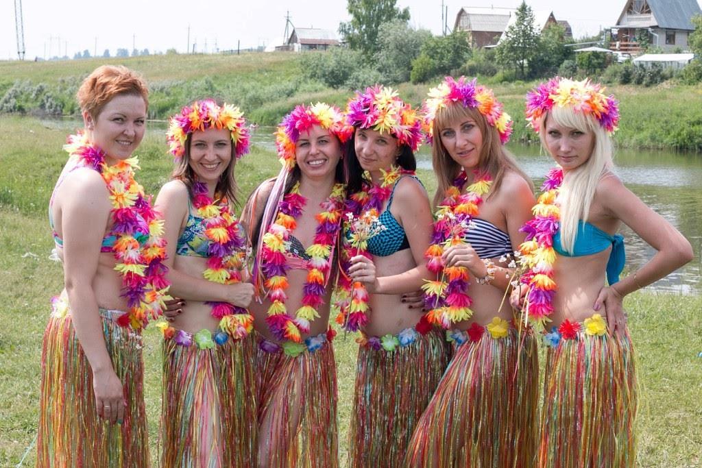 девишник в стиле гавайской вечеринки фото какое-то время стала