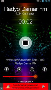 Radyo DamarFM Yeni- screenshot thumbnail