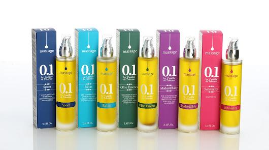 Castillo de Tabernas lanza una gama de aceites de oliva virgen para masajes