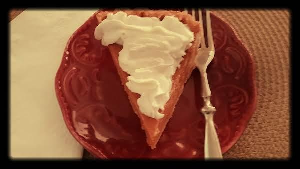 Nannie's Pumpkin Pie Recipe