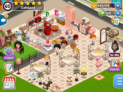 Cafeland MOD – World Kitchen (Unlimited Money) 6
