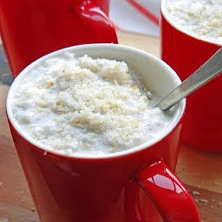 Coconut milk risotto (Arborio rice pudding).