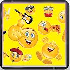 Text Emoticons Keyboard - QWERTY-Tastatur icon