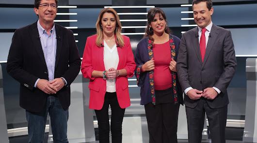 Los candidatos andaluces echan el resto en el último debate de campaña