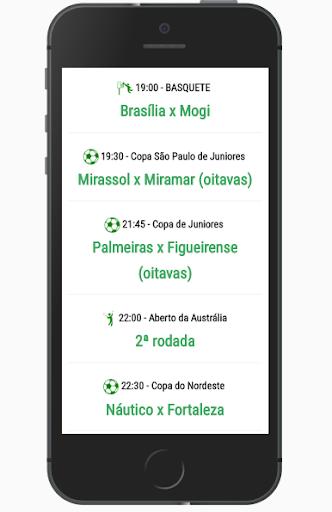 EsportesBR - Agenda do futebol 5.1 screenshots 2