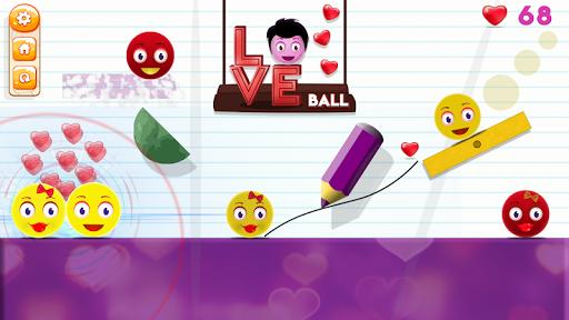 Love Ball - Physics Puzzle 1.1.2 screenshots 3