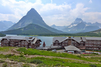 Photo: Parting shot of Many Glacier Lodge before I drove home Friday afternoon - What a GREAT week it was!