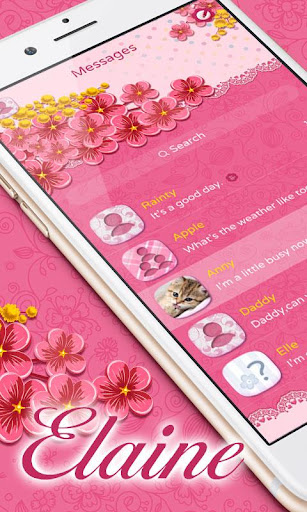 GO SMS PRO ELAINEL THEME