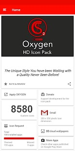 OXYGEN - ICON PACK Screenshot