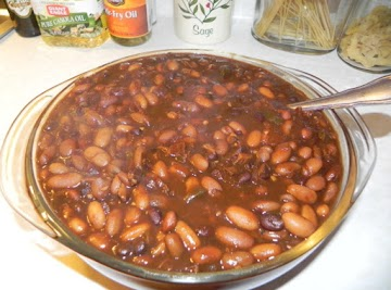 Southern Slow Cooked Baked Beans Recipe