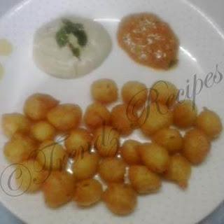 Punugulu Recipe With Dosa Batter.