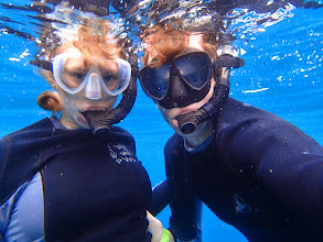 Photo: Us (underwater).