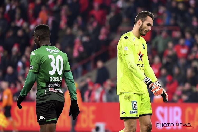 """Guillaume Hubert de retour à Sclessin: """"On a eu plus d'occasions qu'eux"""""""